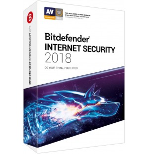 BITDEFENDER Internet Security 2018 (1an - 1 PC) OEM