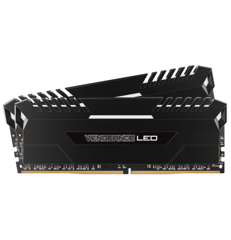 CORSAIR VENGEANCE LED DDR4 16 Go (2x 8Go) 2666 MHZ CL 16 -