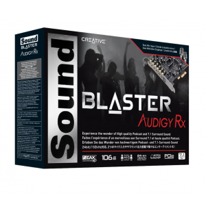 Carte son CREATIVE Sound Blaster Audigy Rx 7.1 PCIe
