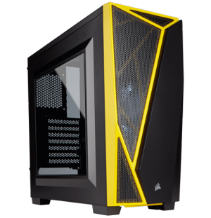 CORSAIR Carbide Series SPEC-04 Noir/Jaune