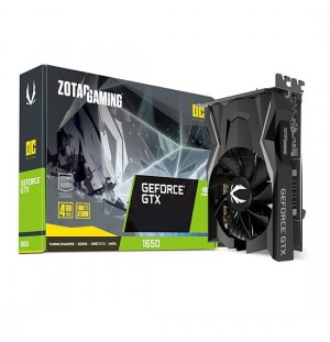 ZOTAC GEFORCE GTX 1650 4GB