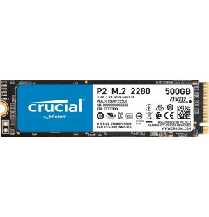 Crucial P2 500 Go SSD NVME M.2