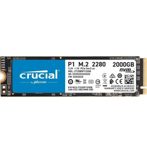 Crucial P1 2To (2000Go) - M.2 NVMe Type 2280