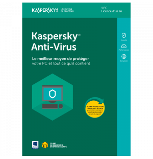 Kaspersky Antivirus - 1 PC - 1 An (OEM)
