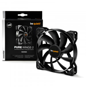 Be Quiet Pure Wings 2 PWM - 12cm (Noir)