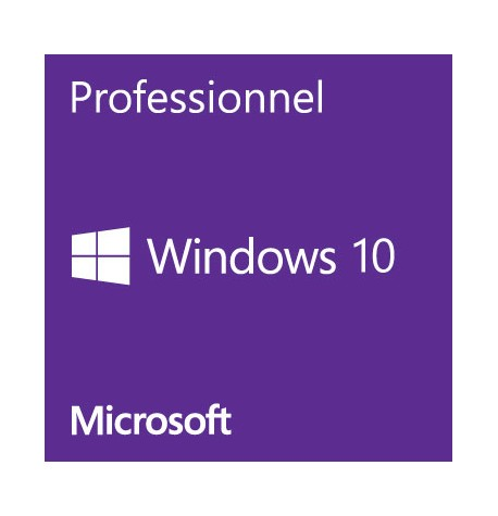 WINDOWS 10 PROFESSIONNEL OEM 32/64bit
